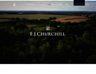 ejchurchill.com screenshot