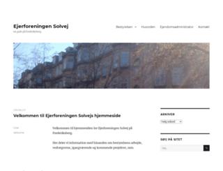 ejerforeningensolvej.dk screenshot