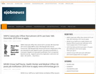 ejobnewss.com screenshot