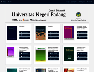 ejournal.unp.ac.id screenshot