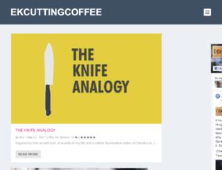 ekcuttingcoffee.co.in screenshot
