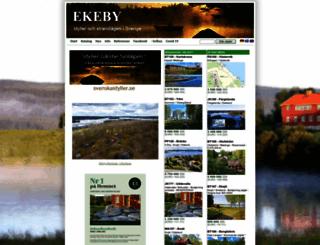 ekeby.cc screenshot