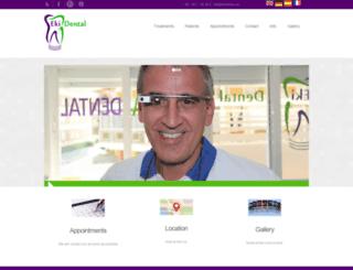 ekidental.com screenshot