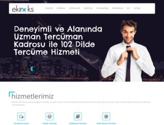 ekinoksceviri.com screenshot