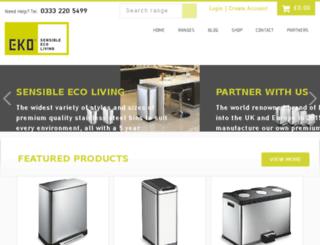 eko-europe.co.uk screenshot