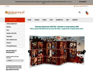 ekologiczny.pl screenshot