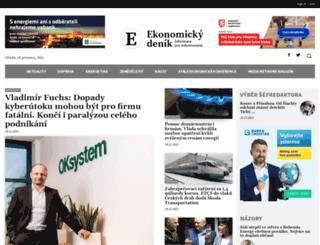 ekonomicky-denik.cz screenshot
