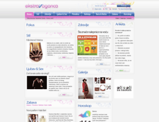 ekstravaganca.com screenshot