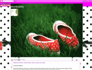 ekynbubbly.blogspot.com screenshot