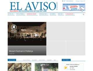 el-aviso.es screenshot