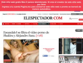 el-espectador-com.infored.mx screenshot