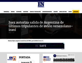 el-nacional.com screenshot