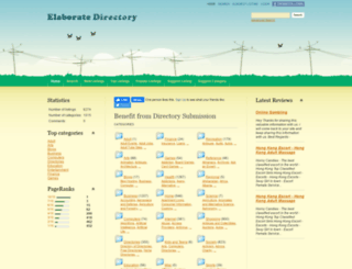 elaboratedirectory.com screenshot