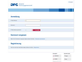 elan.dfg.de screenshot