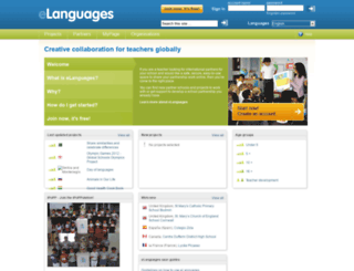 elanguages.org screenshot