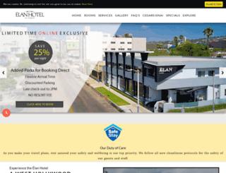 elanhotel.com screenshot