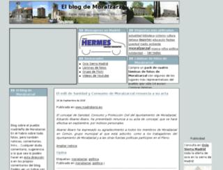 elblogdemoralzarzal.com screenshot