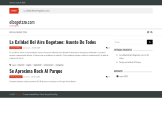 elbogotazo.com screenshot