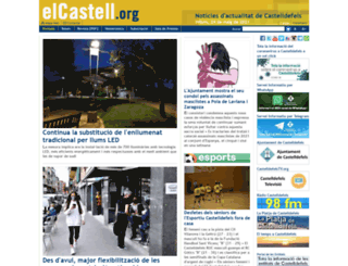 elcastell.org screenshot