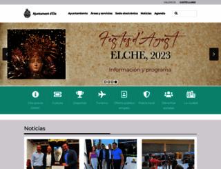 elche.es screenshot