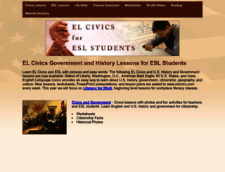 elcivics.com screenshot