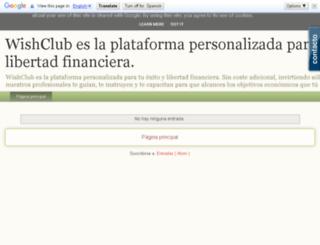 elclubdeldeseo.blogspot.com.es screenshot