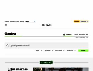 elcomidista.elpais.com screenshot