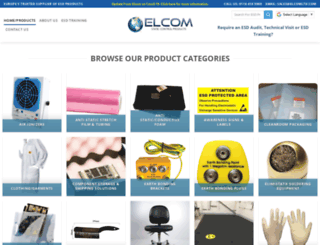 elcomltd.com screenshot