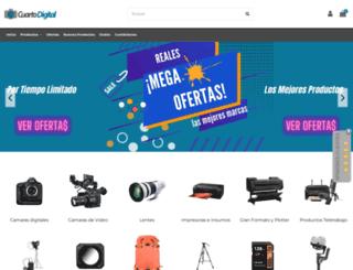 elcuartodigital.cl screenshot