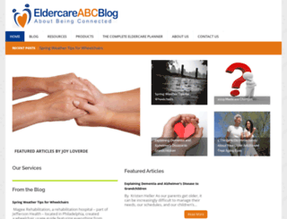 eldercareabcblog.com screenshot