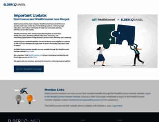 eldercounsel.com screenshot