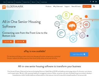 eldermark.com screenshot