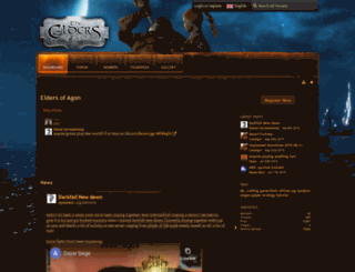 eldersofagon.com screenshot