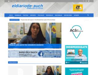 eldiarioderauch.com.ar screenshot