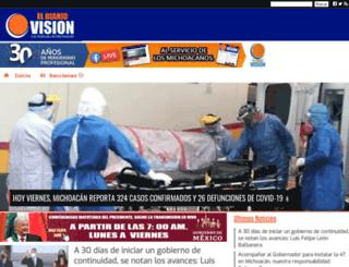 eldiariovision.com.mx screenshot