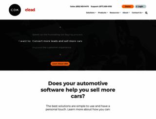 elead-crm.com screenshot