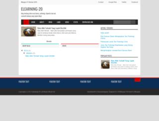 elearning-20.blogspot.com screenshot