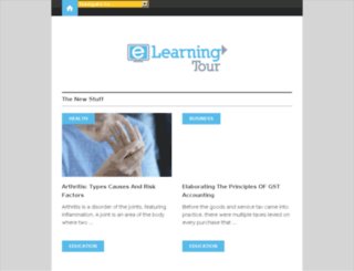 elearning-tour.com screenshot