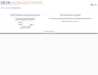 elearningcenter.nicheprogram.org screenshot