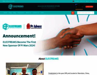 elecfreaks.com screenshot
