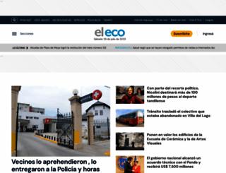 eleco.com.ar screenshot
