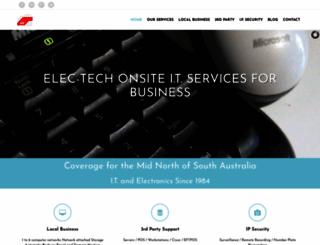 electech.com.au screenshot