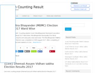 electionliveresults.com screenshot