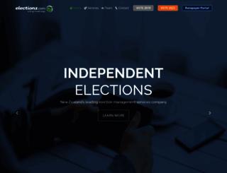 electionz.com screenshot