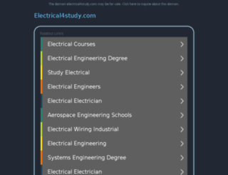 electrical4study.com screenshot