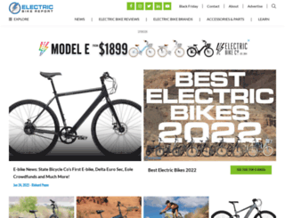 electricbikereport.com screenshot