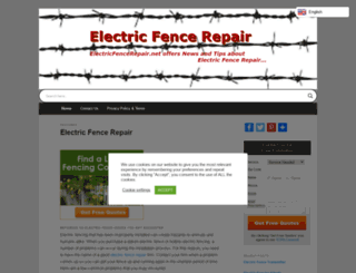 electricfencerepair.net screenshot