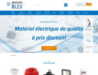 electricitebleu.com screenshot