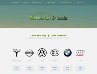 electriconwheels.com screenshot