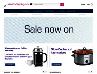 electricshopping.com screenshot